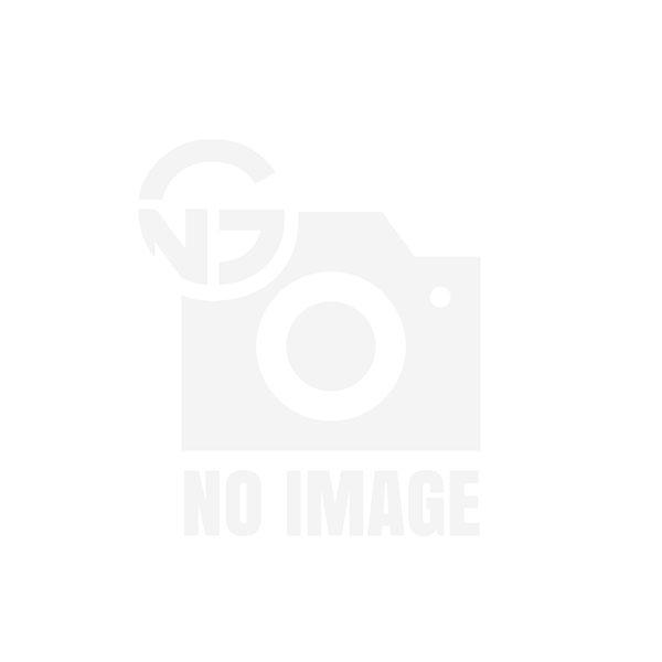 Scotty Flush Deck Mount, Black w/Rain Cap 0244-BK